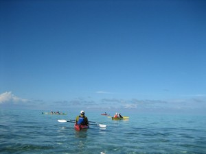 kayaking belize